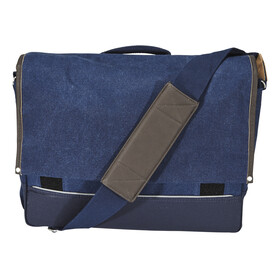 Basil Urban Fold Bike Pannier blue